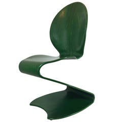 "1956 Verner Panton No. 276 ""S"" Chair Distributed by Thonet"