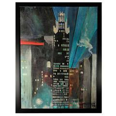 Midcentury New York Cityscape