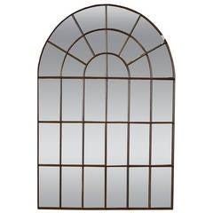 Cast Iron Palladian Window Mirror