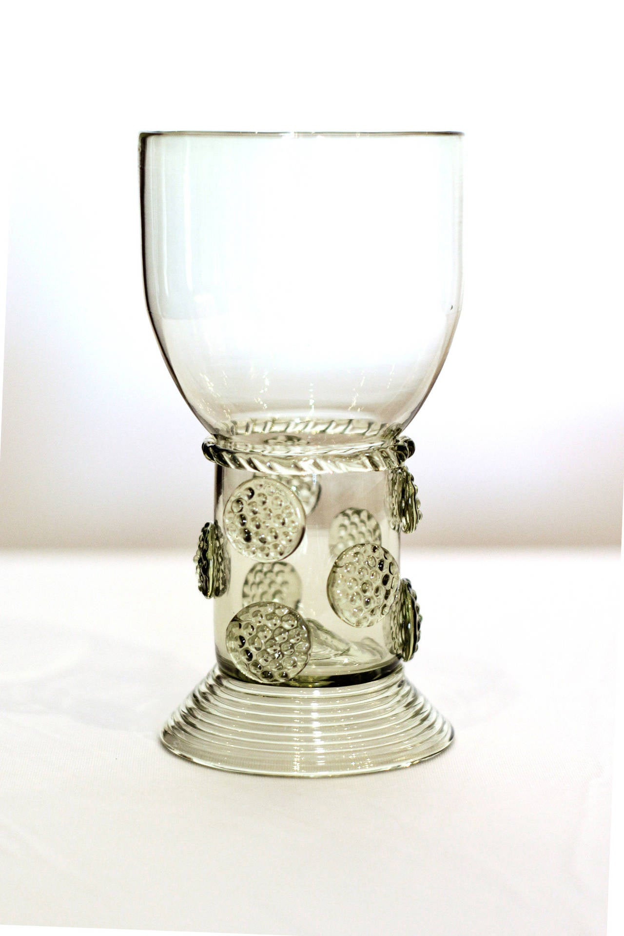 Handblown Glass Wine Glasses At 1stdibs