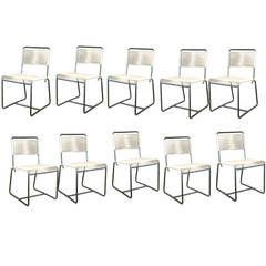 Walter Lamb Bronze Side Chairs