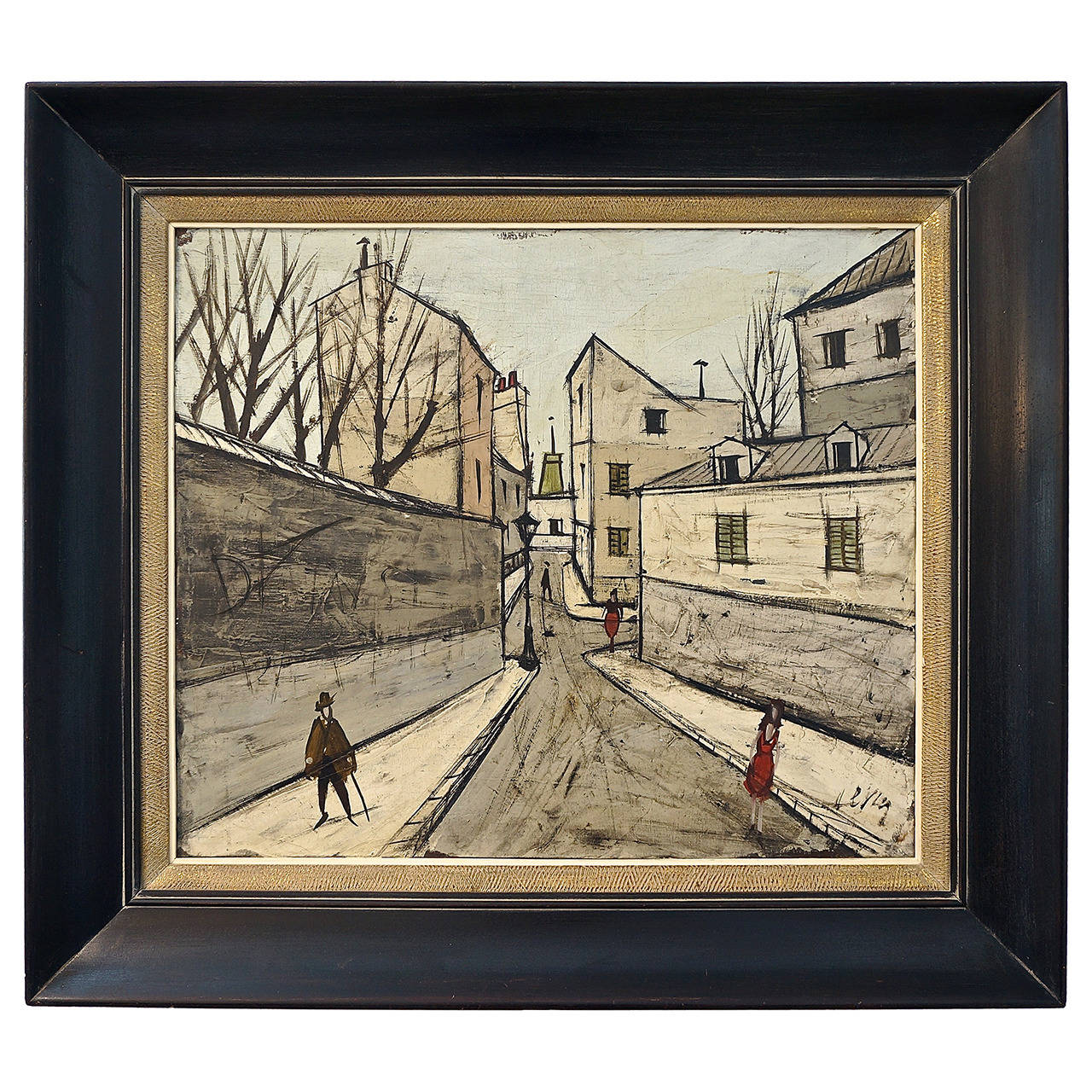 mid century painting by the iconic french artist charles