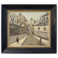 Midcentury Painting by the Iconic French Artist Charles Levier