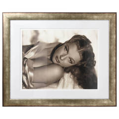 Large Scale, Iconic Photograph of Ann Sheridan:  George Hurrell 1938