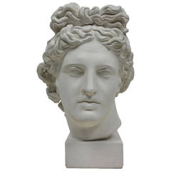 Plaster Cast of the Apollo, Italian, Late 19th Century to Early 20th Century