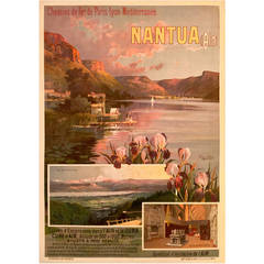 Belle Époque Period French Travel Poster for Nantua by Hugo D'alesi