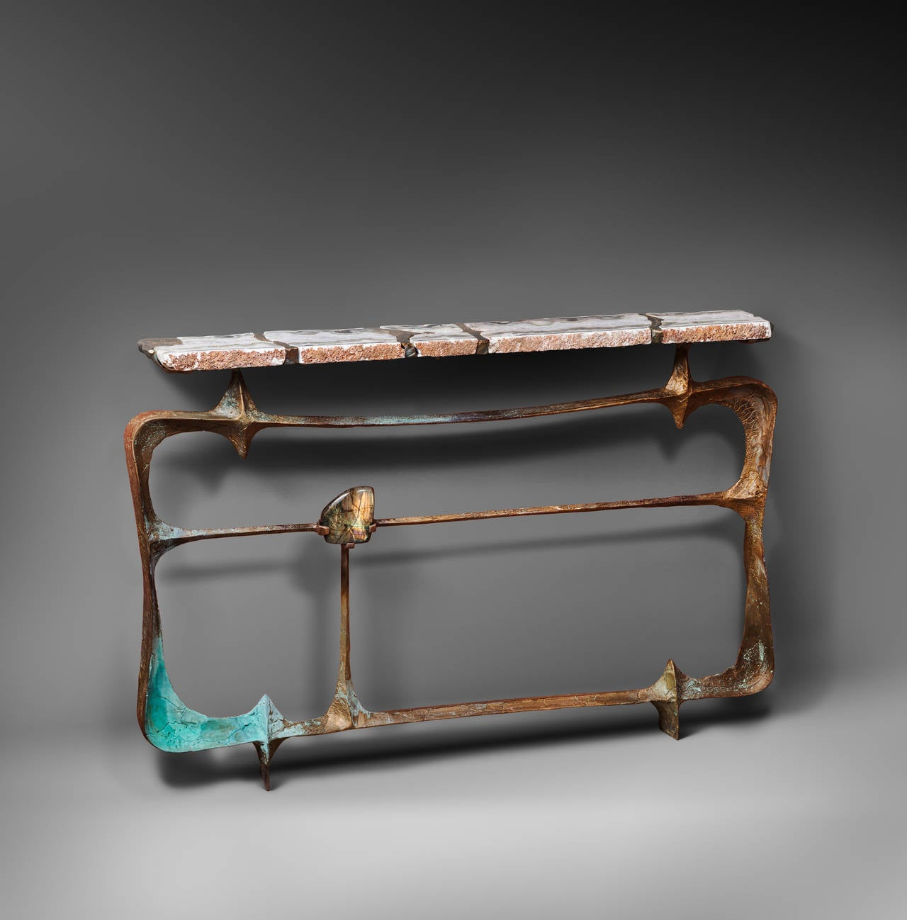 Brazier jones 2014 agate labradorite console table for sale at 1stdibs brazier jones 2014 agate labradorite console table 2 geotapseo Image collections