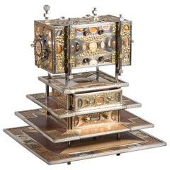 Daniel Arnoul, Unique precious stones Jewelry Cabinet, 1995