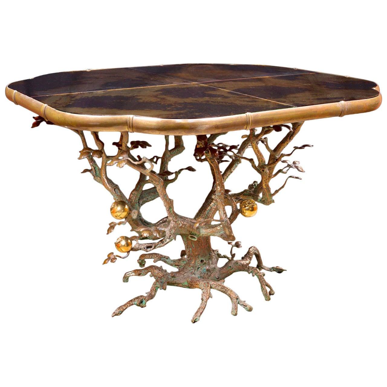 Mark brazier jones unique center pomegranate table 2013 for Markup table