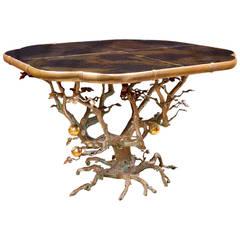 Mark Brazier-Jones, Unique Center Pomegranate Table, 2013
