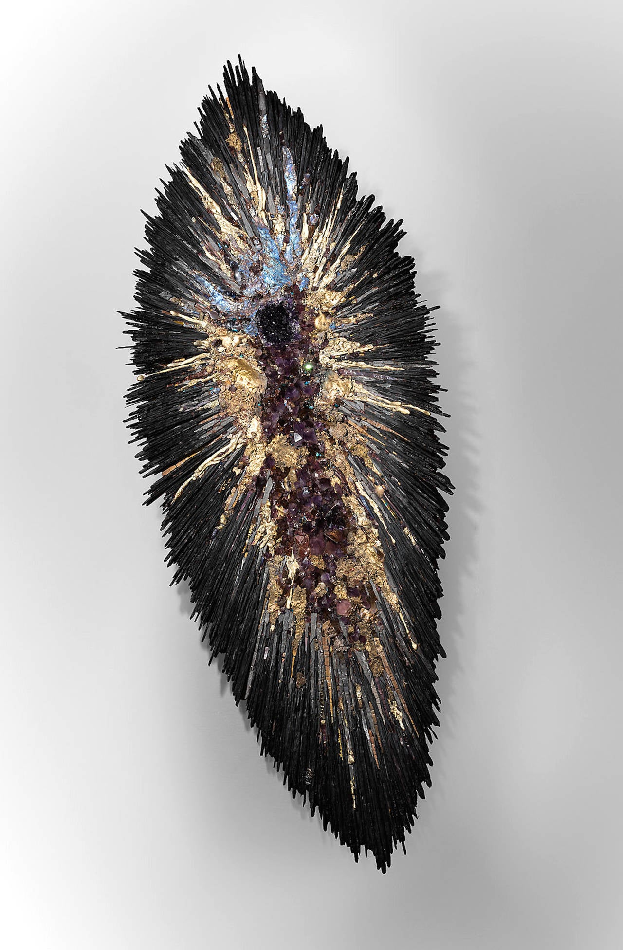 "Béatrice serre 2015 ""amethist big bang"" wall sculpture for sale at ..."