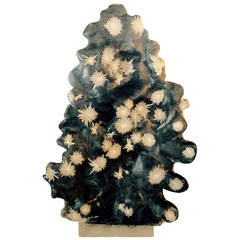 China, Monumental Natural Chrysanthemum Crystal Sculpture