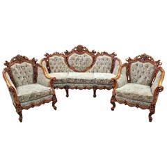 Rococo Parlor, Three-Piece Suite