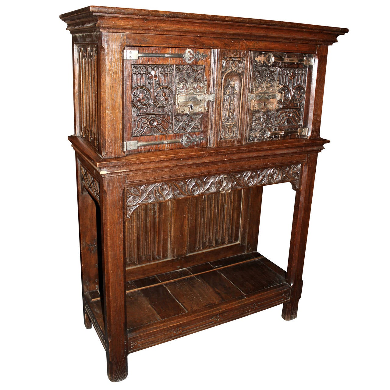 Early 20th Century Gothic Cabinet At 1stdibs