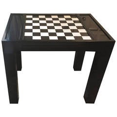 Mid-20th Century Chess or Games Table