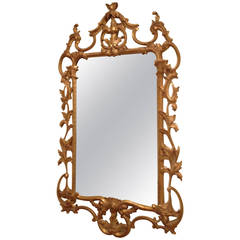 Giltwood Mirror by Carvers' Guild