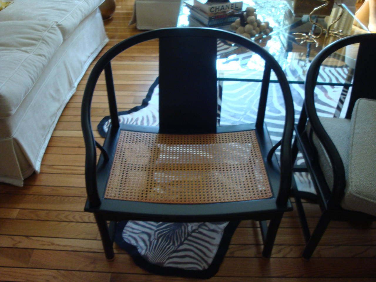 Stupendous Mid Century Modern Baker Asian Style Caned Chairs At 1Stdibs Spiritservingveterans Wood Chair Design Ideas Spiritservingveteransorg