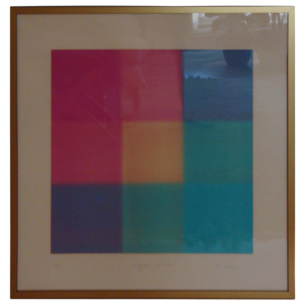 "Barry Nelson ""Candypack"" Abstract Lithograph at 1stdibs"