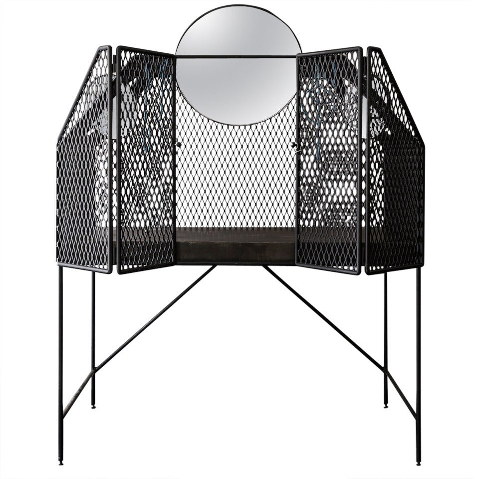"""Cage for Birds"" Dressing Table 1"