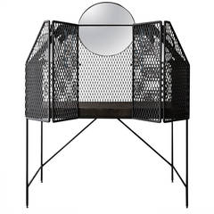 """Cage for Birds"" Dressing Table"