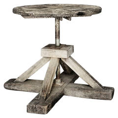 French Sculptor's Table