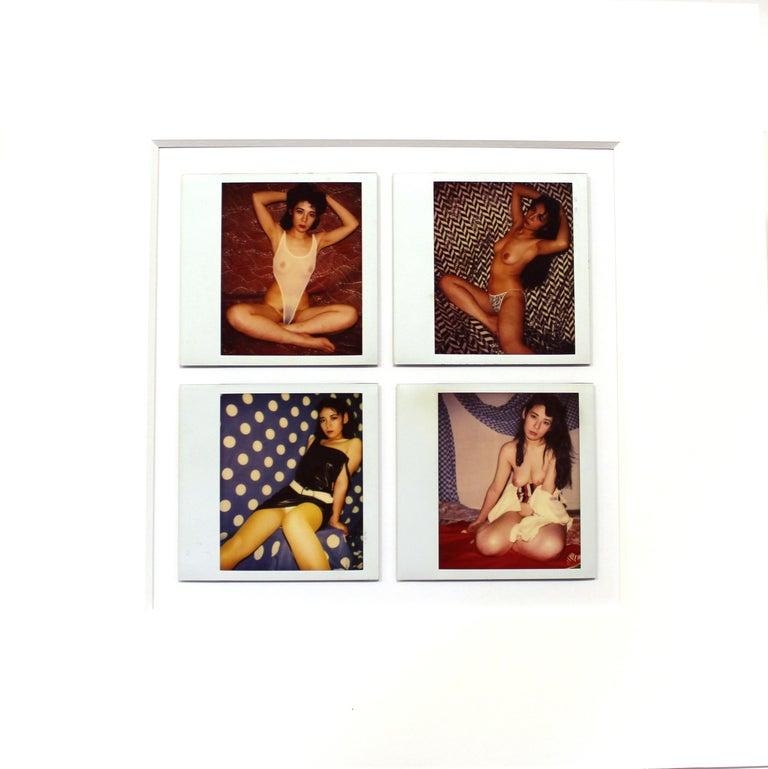 Japanese Vernacular Erotic Nude Polaroids in the Style of Nobuyoshi Araki For Sale 9
