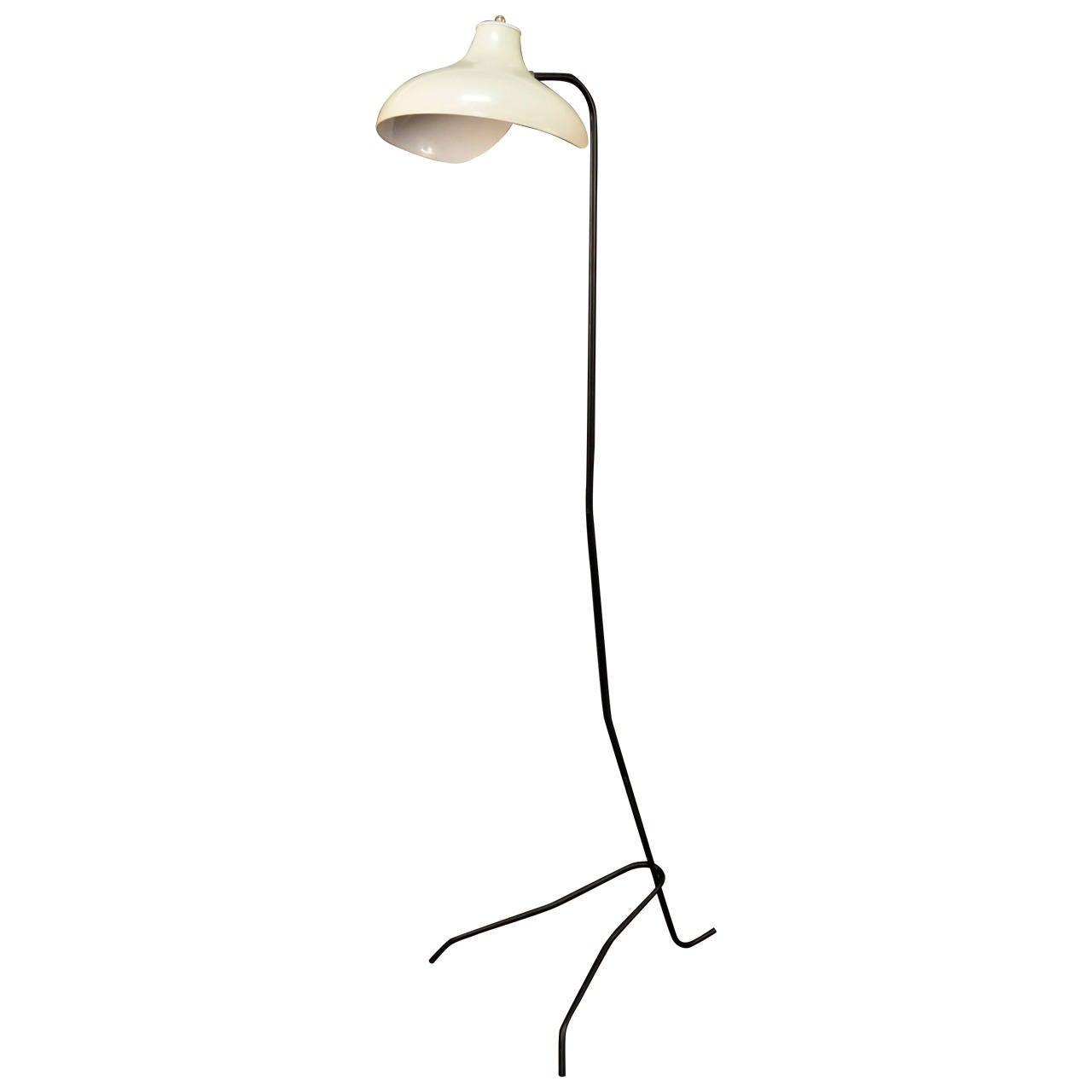 1950s stilnovo floor lamp at 1stdibs for 1950s floor lamps