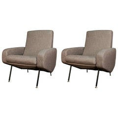 Pair of Troika Armchairs by Pierre Guariche