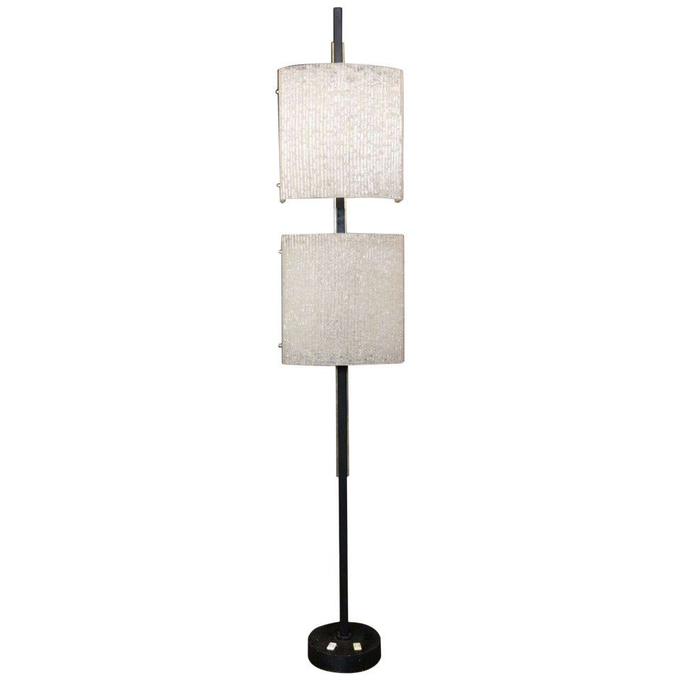 1960s Floor Lamp by Maison Arlus