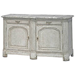 19th Century Painted Neoclassic Style Buffet