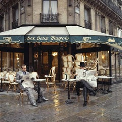 Elton John & Bernie Taupin Cafe in France