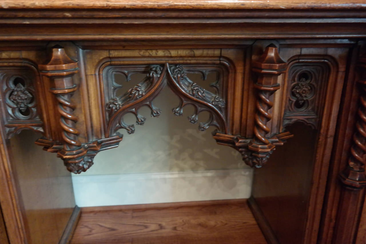 Gothic revival sideboard at 1stdibs for Gothic revival interior