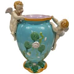 Minton Majolica Vase