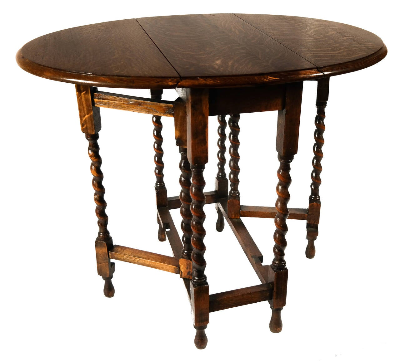 Gateleg table at 1stdibs - Gateleg table and chairs ...