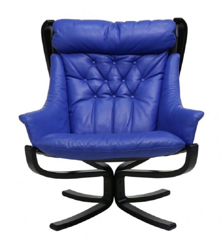 Sigurd Ressell Falcon Easy Chair At 1stdibs