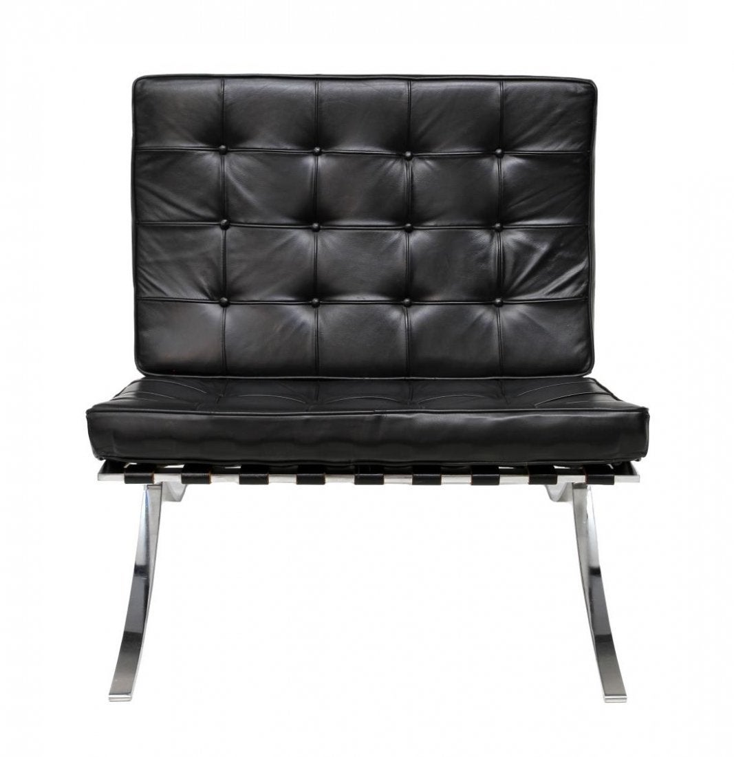 mies van der rohe barcelona chairs by knoll at 1stdibs. Black Bedroom Furniture Sets. Home Design Ideas