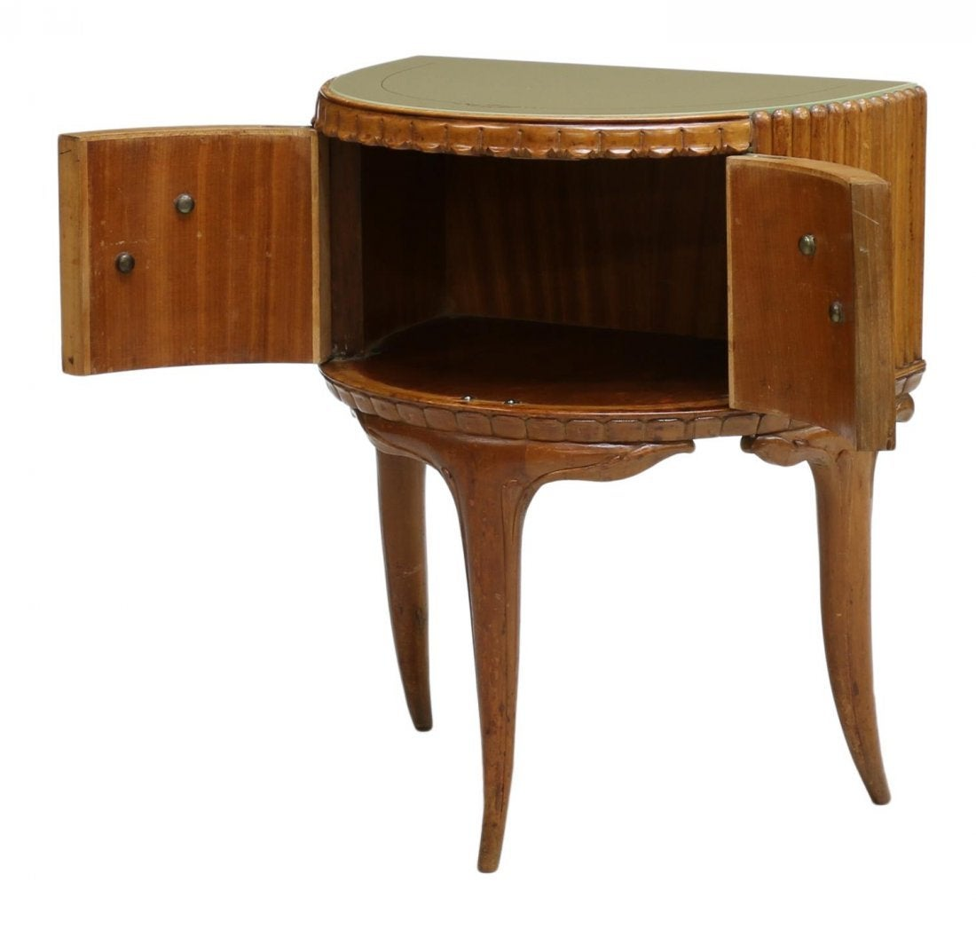 Italian Bird 39 S Eye Maple Side Cabinets For Sale At 1stdibs