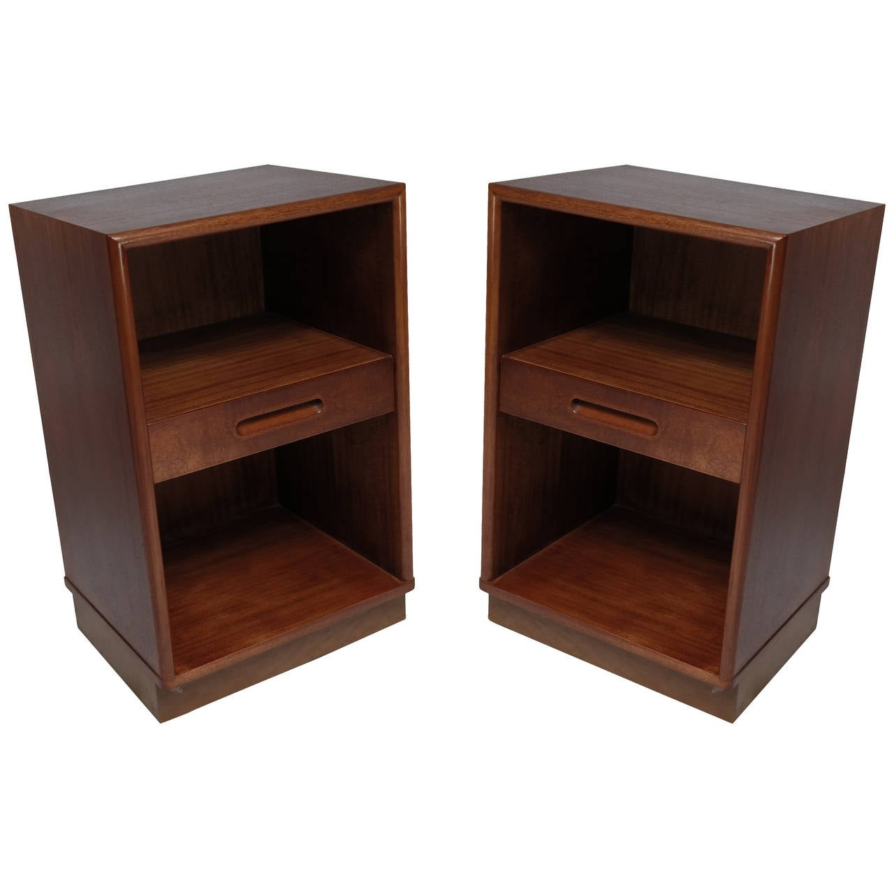 Bedside Cabinets by Edward Wormley for Dunbar