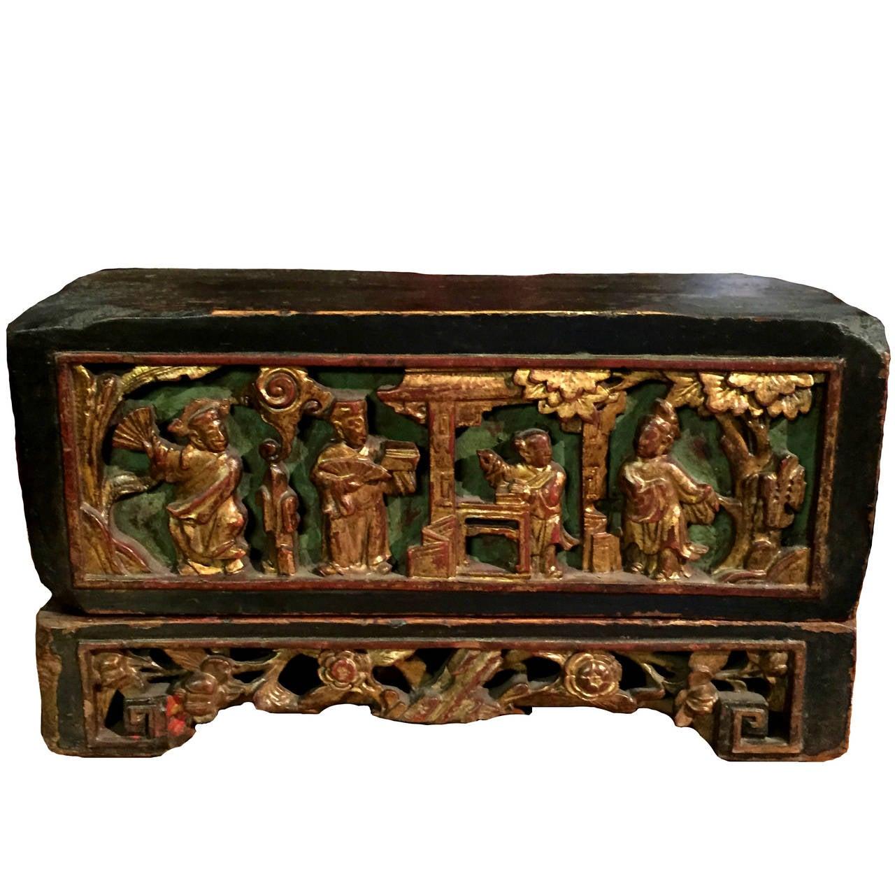 19th-Century Chinese Jewelry Box