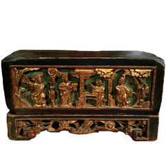 Chinese Antique Jewelry Box, 19th Century