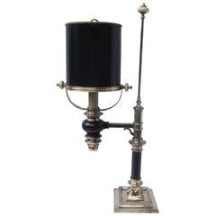 Authentic Brass Chapman Library Table Lamp