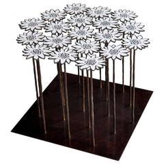 "Table 18 Flowers ""Edeilweiss"""