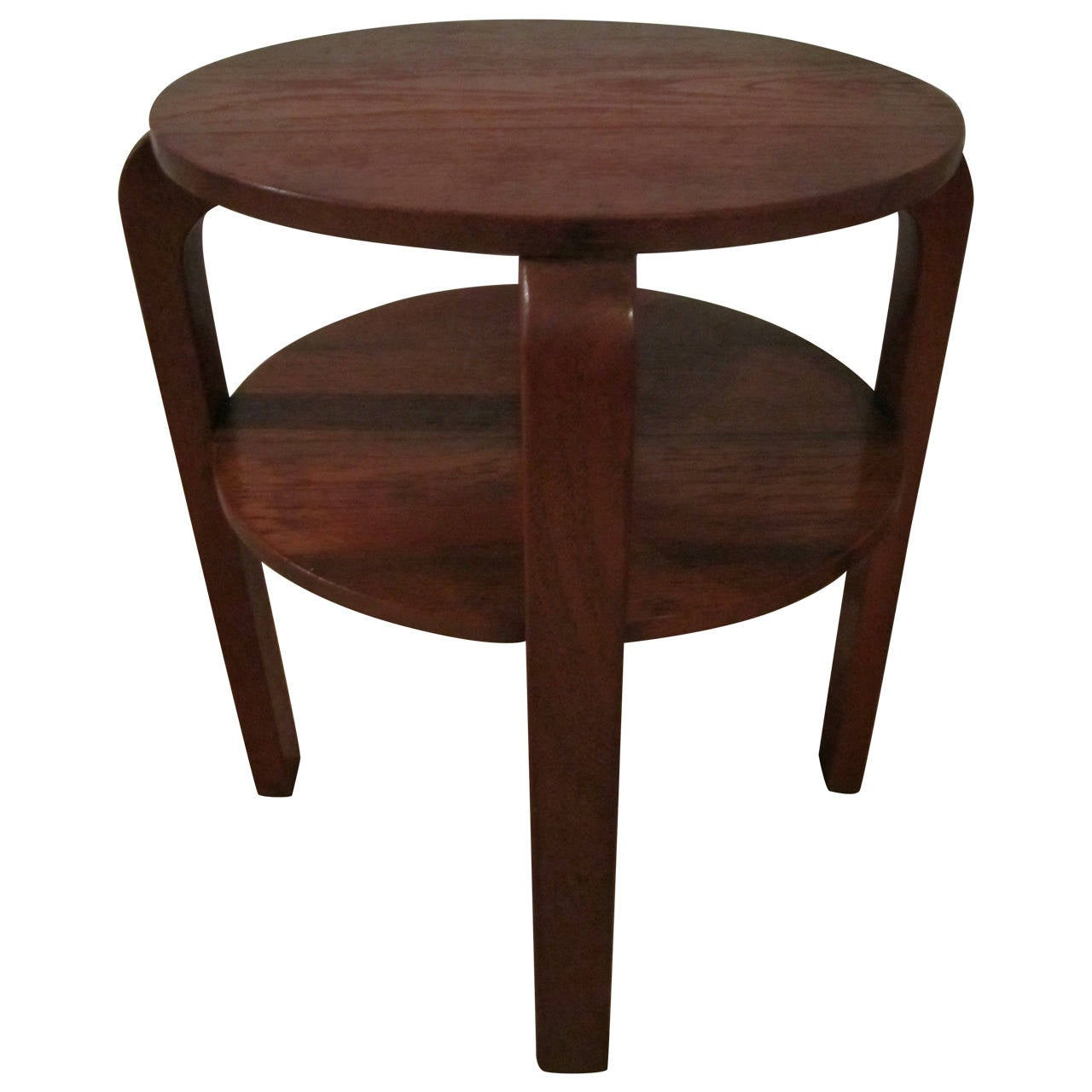 Vintage Scandinavian Modern Two Tier Side Table in the  : 2629192l from www.1stdibs.com size 1280 x 1280 jpeg 81kB