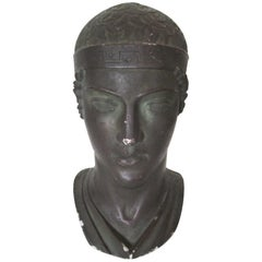 Greek or Roman Head Bust Sculpture