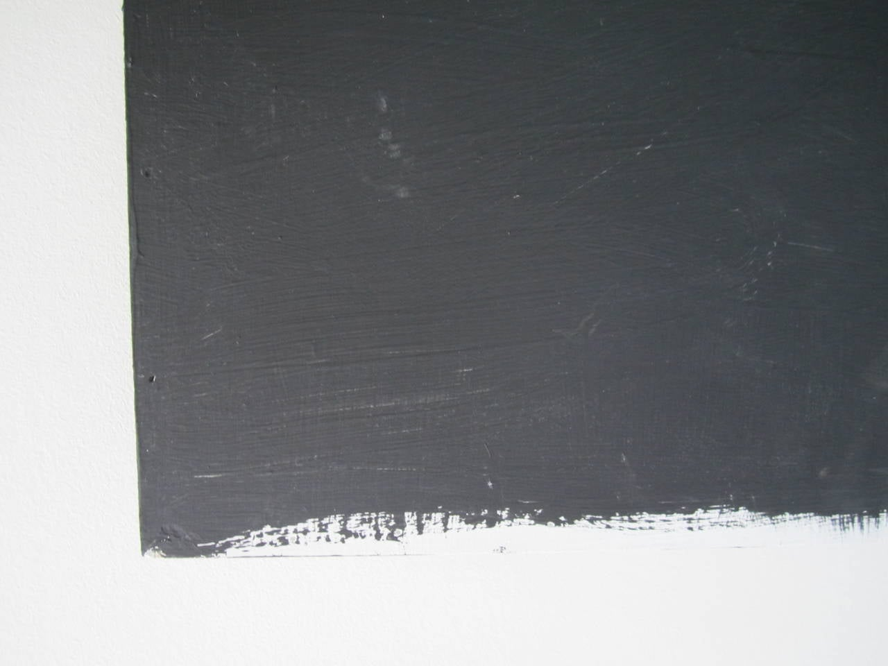 Wood Abstract Black and White Artwork Painting For Sale