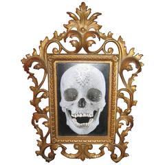 Antique Victorian Brass Picture Frame