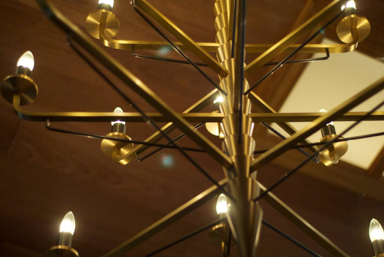 Hand-Crafted Alkahest Chandelier For Sale