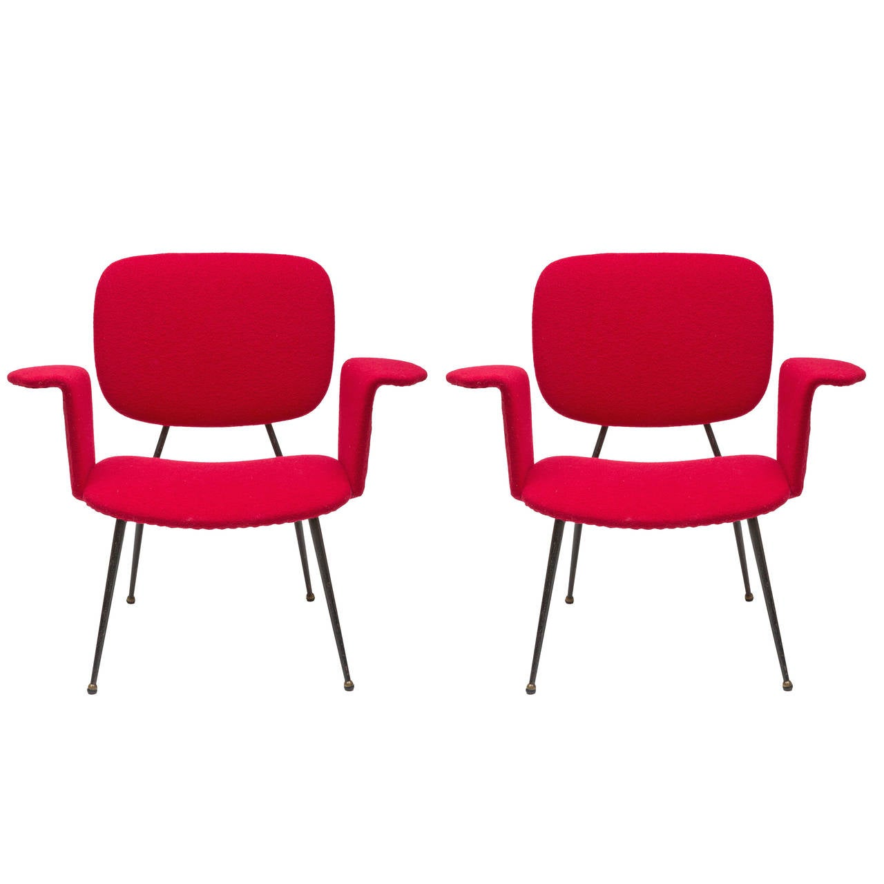 Mid century modern aile chairs for sale