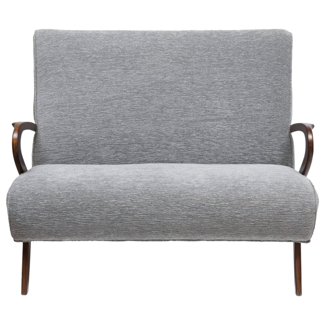 Mid Century Modern Paolo Loveseat For Sale At 1stdibs