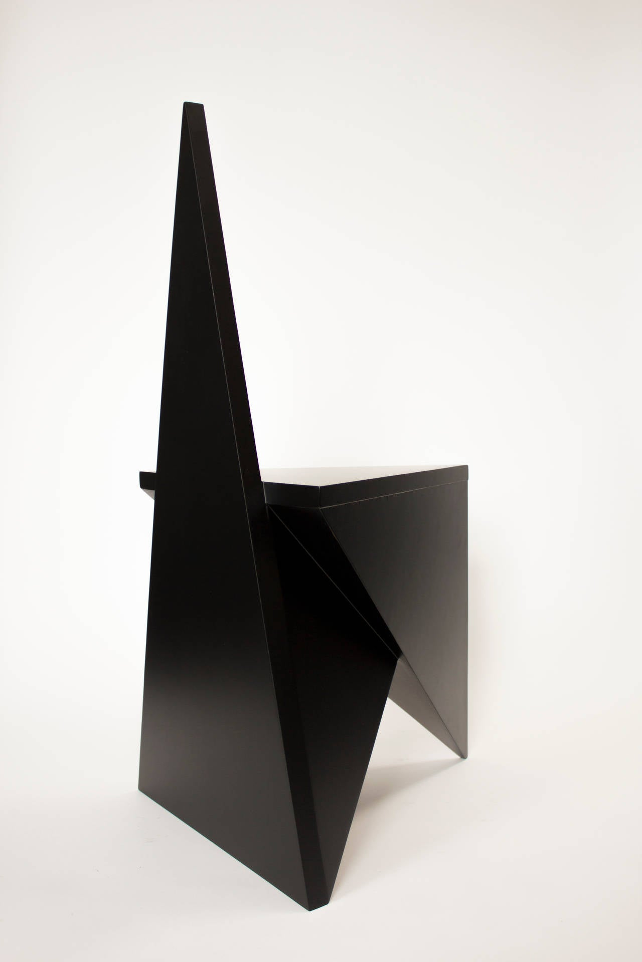 Painted Contemporary 'Vanishing Twin' Side Chair by Material Lust, 2015